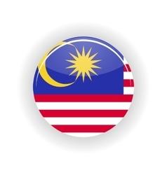Malaysia icon circle vector image