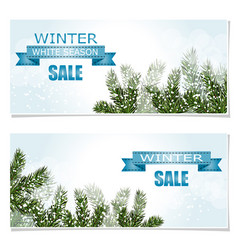 New year christmas flyer business cards vector