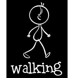 Walking vector