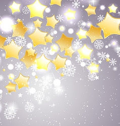 Christmas and new year theme abstraction vector