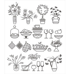 Kitchen stuff10 vector