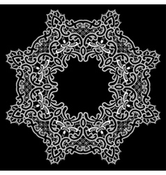 lace round 11 380 vector image