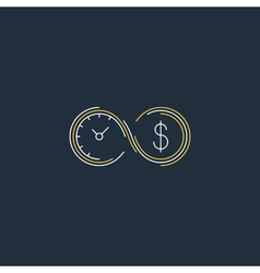 Financial investments concept money insurance icon vector image vector image