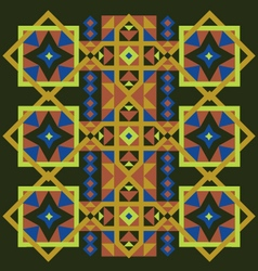 Vintage pattern ornaments vector
