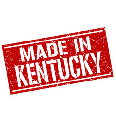 Made in kentucky stamp vector