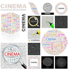 Cinema vector