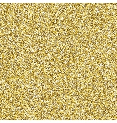 Glitter golden seamless texture vector