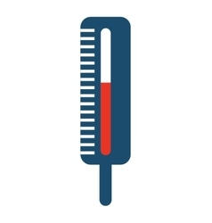 Thermometer isolated icon design vector