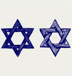 Judaic religion vector