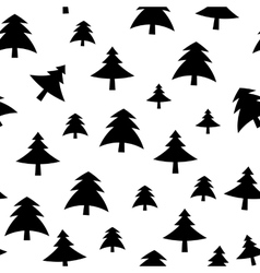 Christmas tree pattern background vector