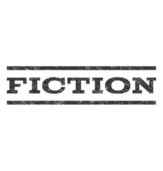 Fiction Watermark Stamp vector image