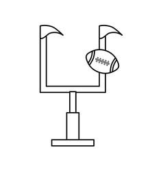 Goal post vector