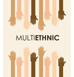 Multiethnic community vector