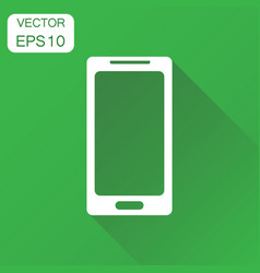 Smartphone icon business concept phone pictogram vector