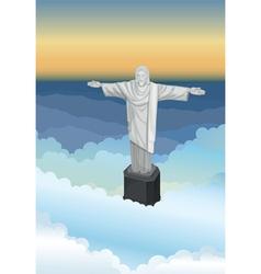 Jejus statue vector