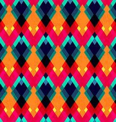 Bright zigzag seamless pattern vector