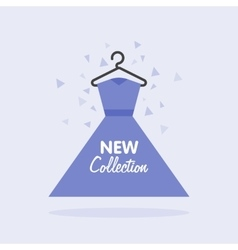 Sales of womens clothing collection vector