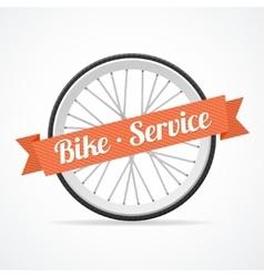 bike service card vector image vector image