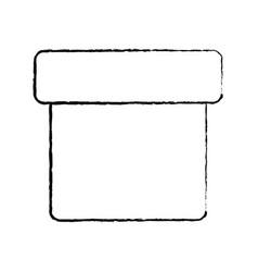 box closed icon image vector image