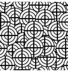 Seamless texture geometric shapes patterns nouveau vector