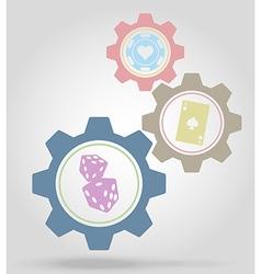 Gear mechanism concept 19 vector