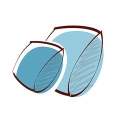 Icon cushion vector