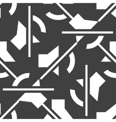 Mute sound web icon flat design Seamless pattern vector image vector image