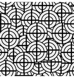 Seamless texture geometric shapes patterns nouveau vector