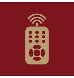 The remote control icon remote control symbol vector