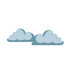 cloud weather sky atmosphere climate icon vector image