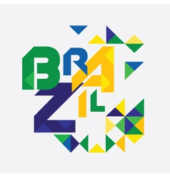 Abstract brazil vector