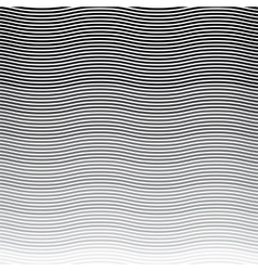 background wavy stripes pattern vector image