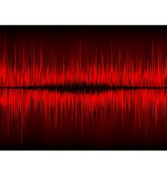 Abstract waveform background vector
