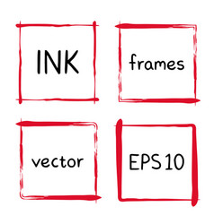 cute hand made frames vector image