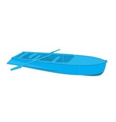 Rowing boat vector