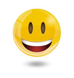 smiley emoticons emoji vector image