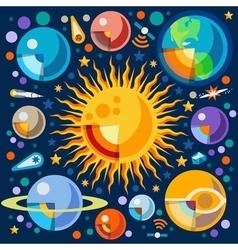 Universe 06 concept isometric vector