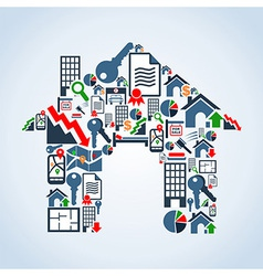 Your own house property service vector