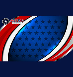 America flag backgrounds color vector