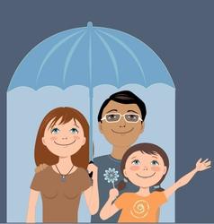 Family insurance vector image