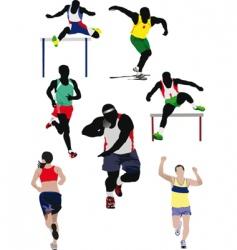 athletics vector image