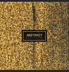 Halftone vintage golden texture vector
