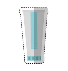 Medicine cream bottle isolated icon vector