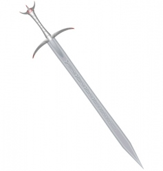 sword vector image