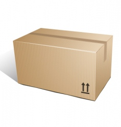 Box carton vector