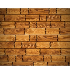 Wooden wall pattern vector