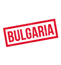 Bulgaria rubber stamp vector