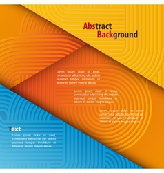 Abstract Background with Rounded Pattern vector image