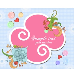 colorful frame vector image vector image