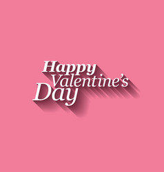 Happy valentines card vector